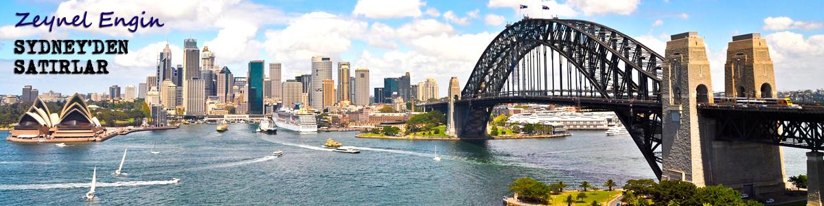Zeynel Engin: Sydney'den Satırlar